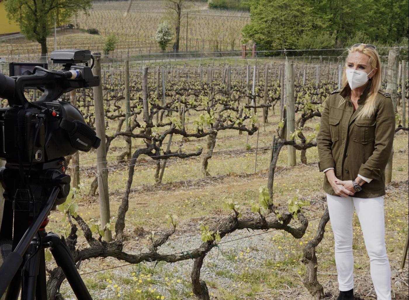 Видеооператор в Италии.