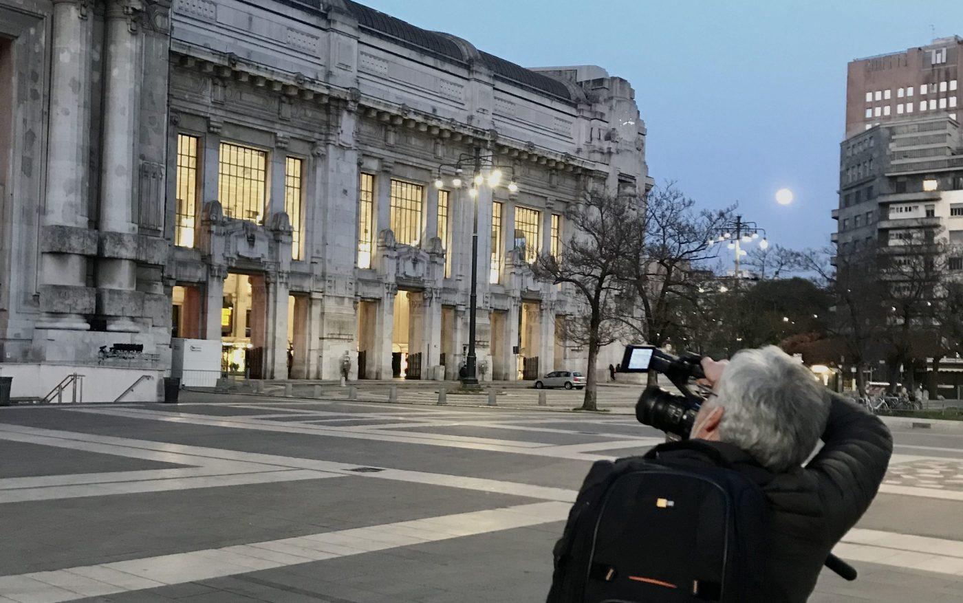 видеооператор в Милане.